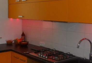 meble kuchenne podświetlane