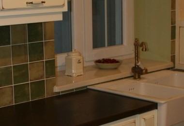 podświetlenie kuchni prowansalskiej